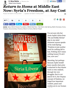Huffington Post_Return to Homs