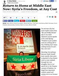 Huffington Post_Return to Homs