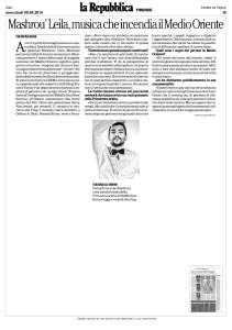 La Repubblica Firenze_Mashrou' Leila 9 aprile