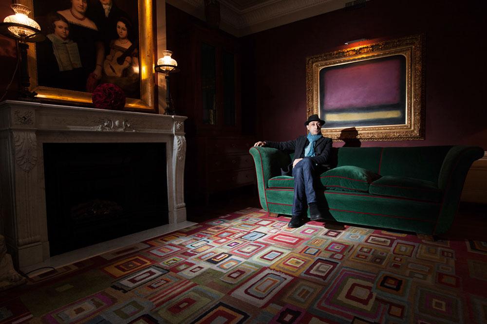 Moroccan director Faouzi Bensaidi at Hotel Santa Maria Novella Florence / ph. Tommaso Majonchi - M Studio