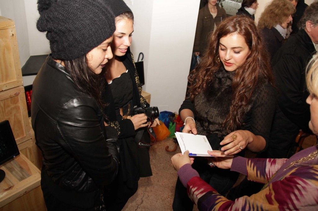'Listen' Exhibition by Newsha Tavakolian Exhibition - the artist at the Opening - Middle East Now 2012