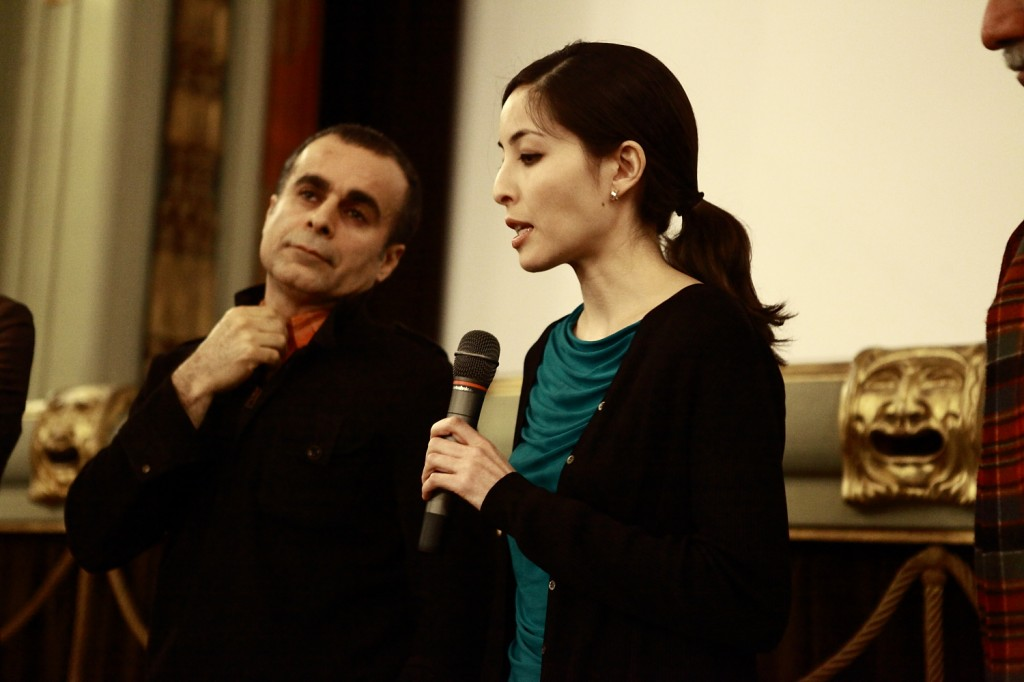 Iranian director Bahman Ghobadi and journalist Roxana Saberi Special Guests at Middle East Now 2010