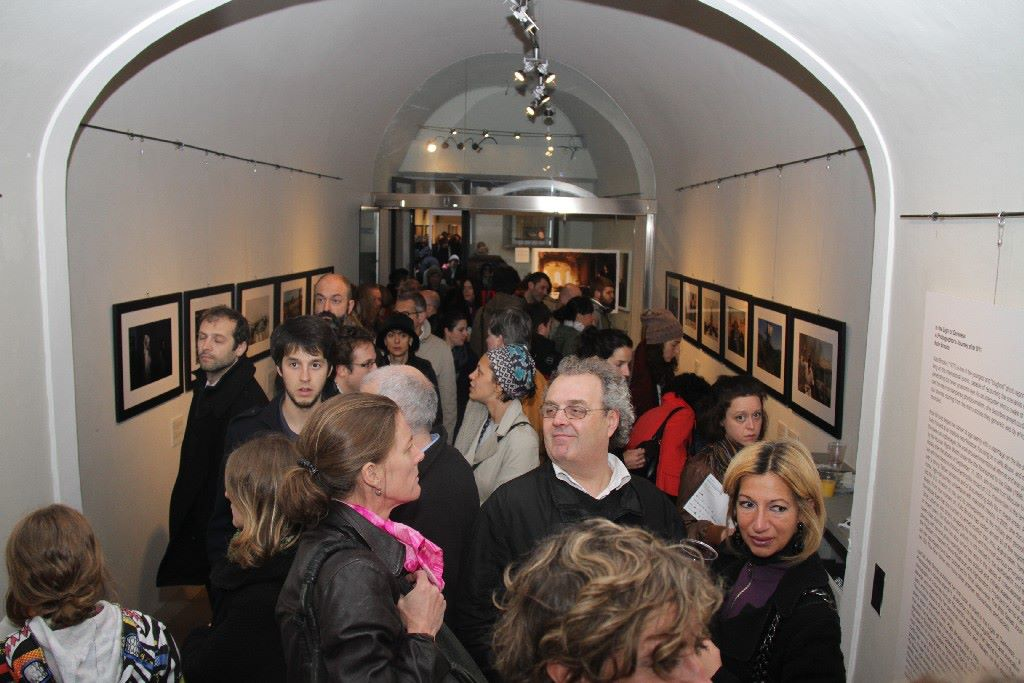 'In The Light of Darkness' by Kate Brooks Exhibition Opening - Middle East Now 2012