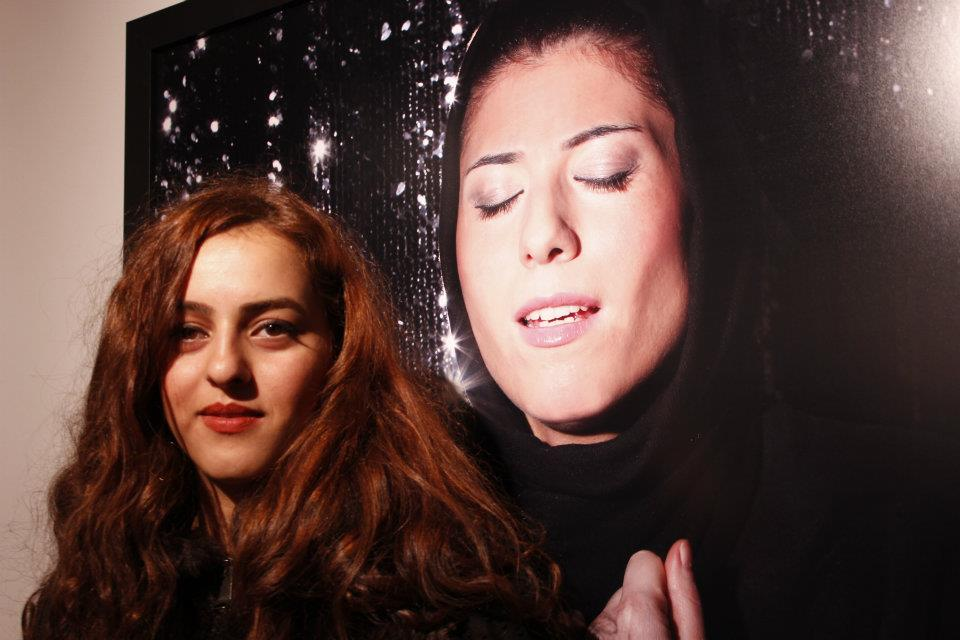 'Listen' Exhibition by Newsha Tavakolian - the artist - Middle East Now 2012