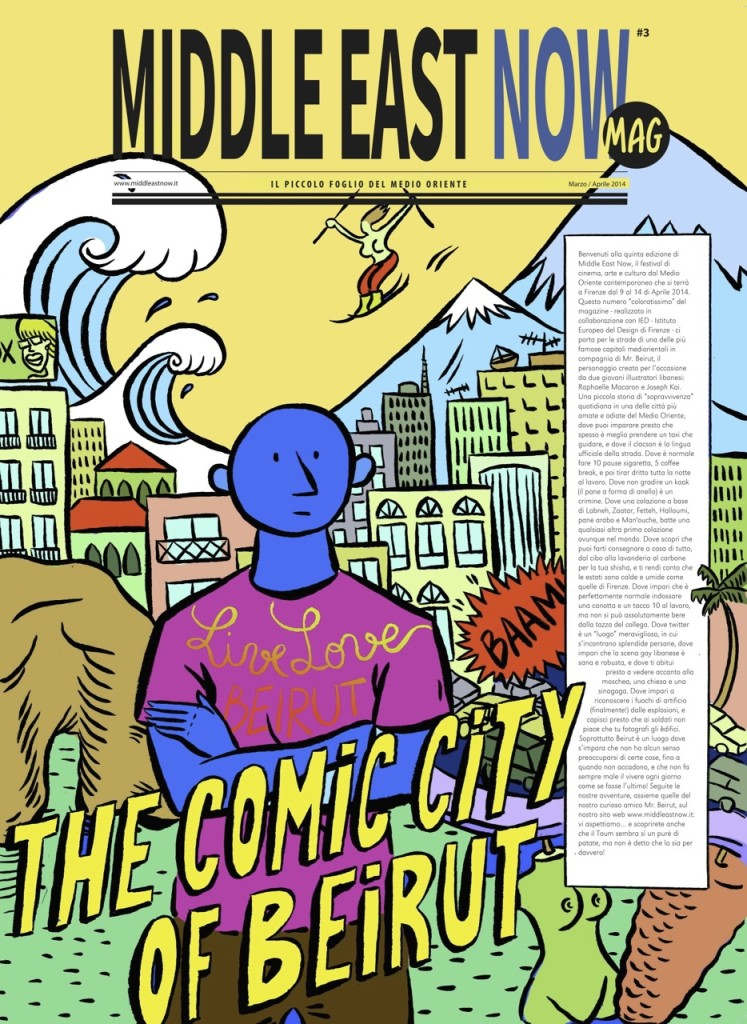 Comic Life of Beirut_cover magazine