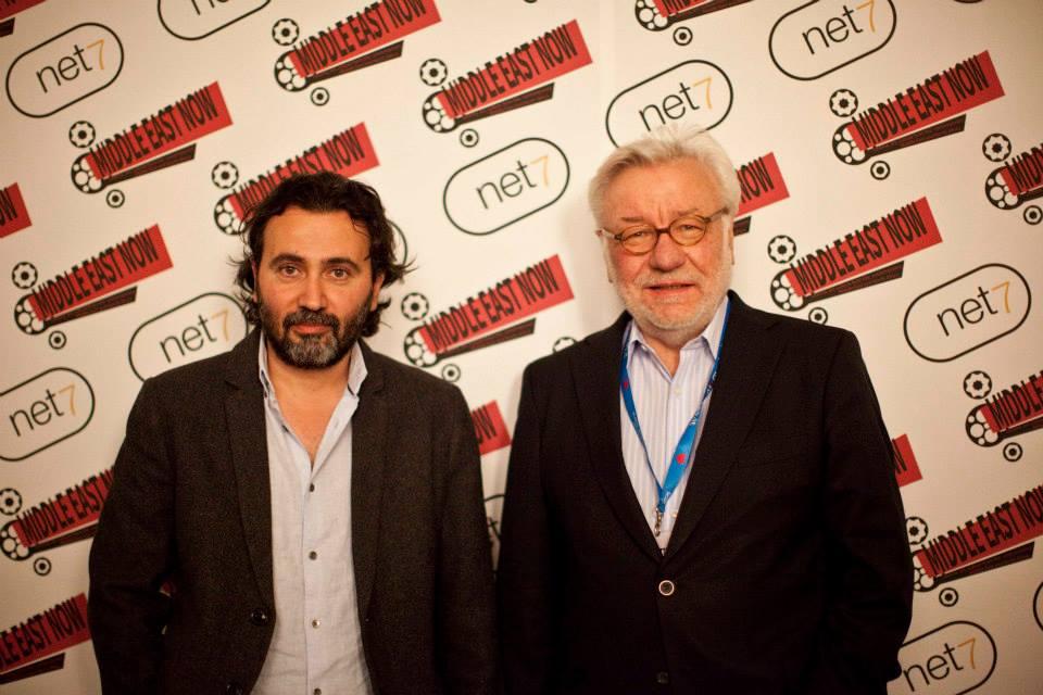 Director Talal Derki and producer Hans Robert Heisenhauer - 'Return to Homs'