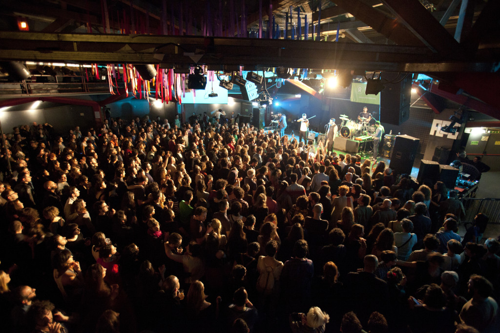 Mashrou' Leila concert at Auditorium Flog Firenze - Charity event together with Oxfam