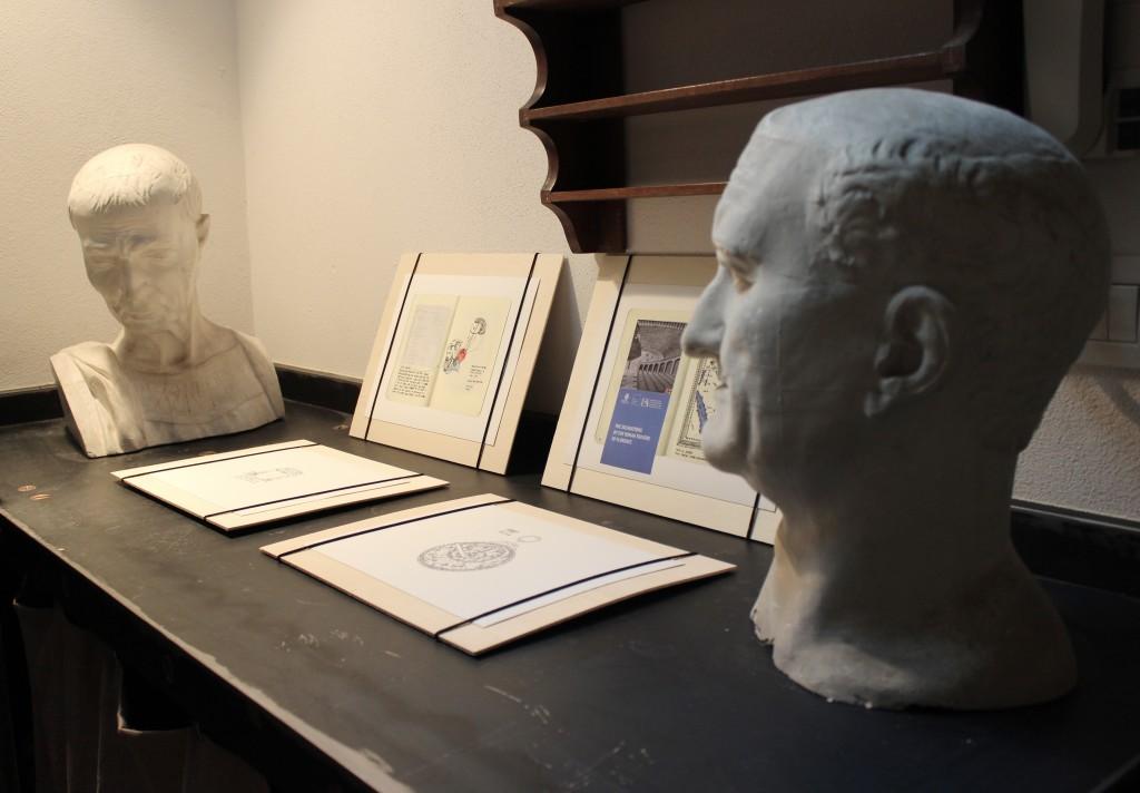 Nasser Alzayani's exhibition at ETRA Gallery Ph. Veronica Mencacci