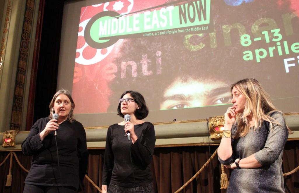 Marcella Simoni, Israeli director Mor Loushy, Lisa Chiari Ph. Veronica Mencacci