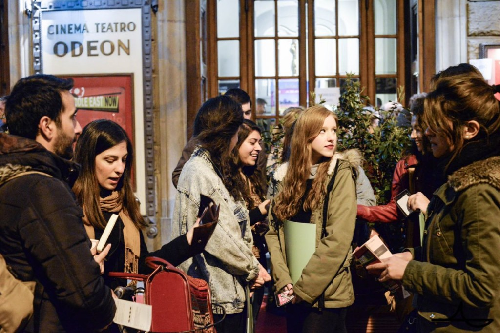 Festival Audience at Cinema Odeon Ph. Luca Morgantini