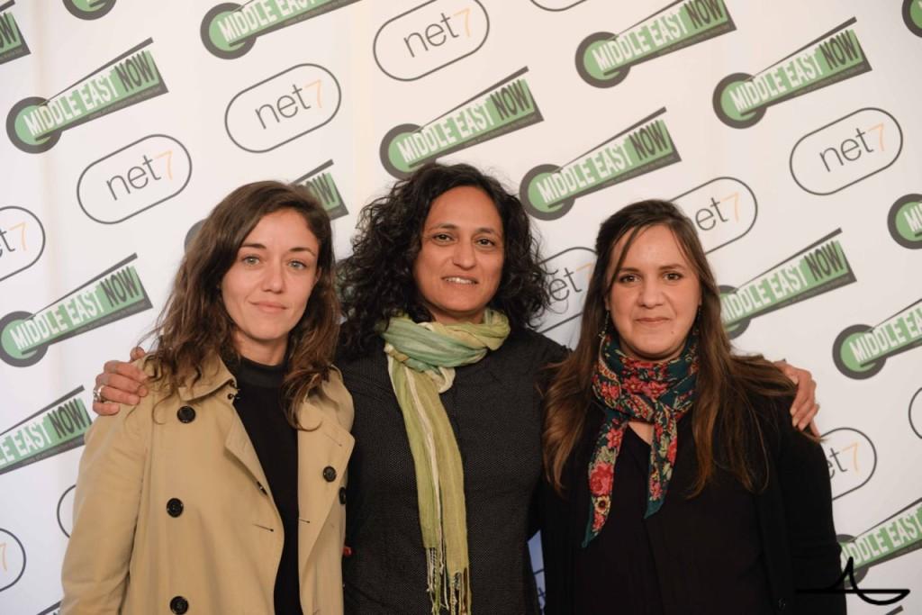 Israeli director Moran Ifergan, Greenhouse founder Sigal Yehuda, Algerian director Nassima Guessoum Ph. Luca Morgantini