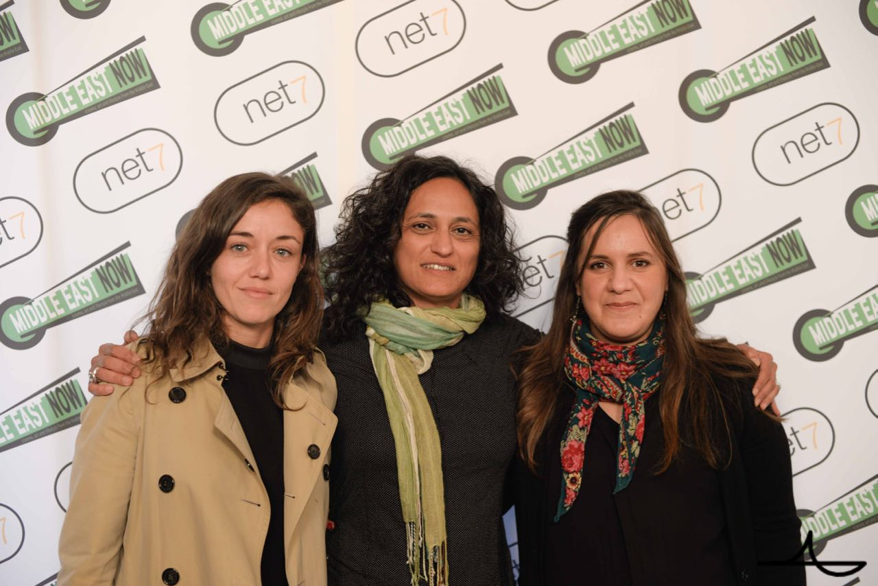 Israeli director Moran Ifergan, Greenhouse founder Sigal Yehuda, Algerian director Nassima Guessoum Ph. Luca Morgantini