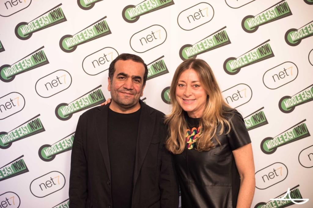 Kurdish director Shawkat Amin Korki and festival director Lisa Chiari Ph. Luca Morgantini