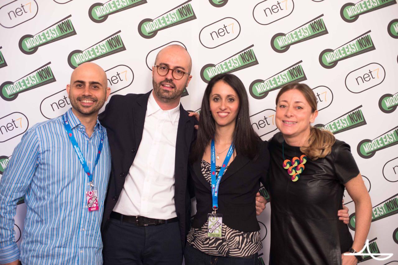 Director Habib Battah, Roberto Ruta, director Anna Fahr, Lisa Chiari Ph. Luca Morgantini