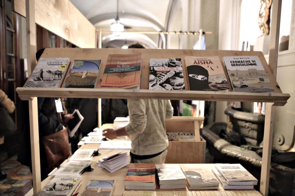 Voyage Books by Archivio Personale at Odeon Cinema Ph. Gabriele Berti