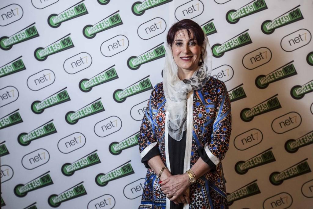 Iranian actress Simin Motamed-Arya