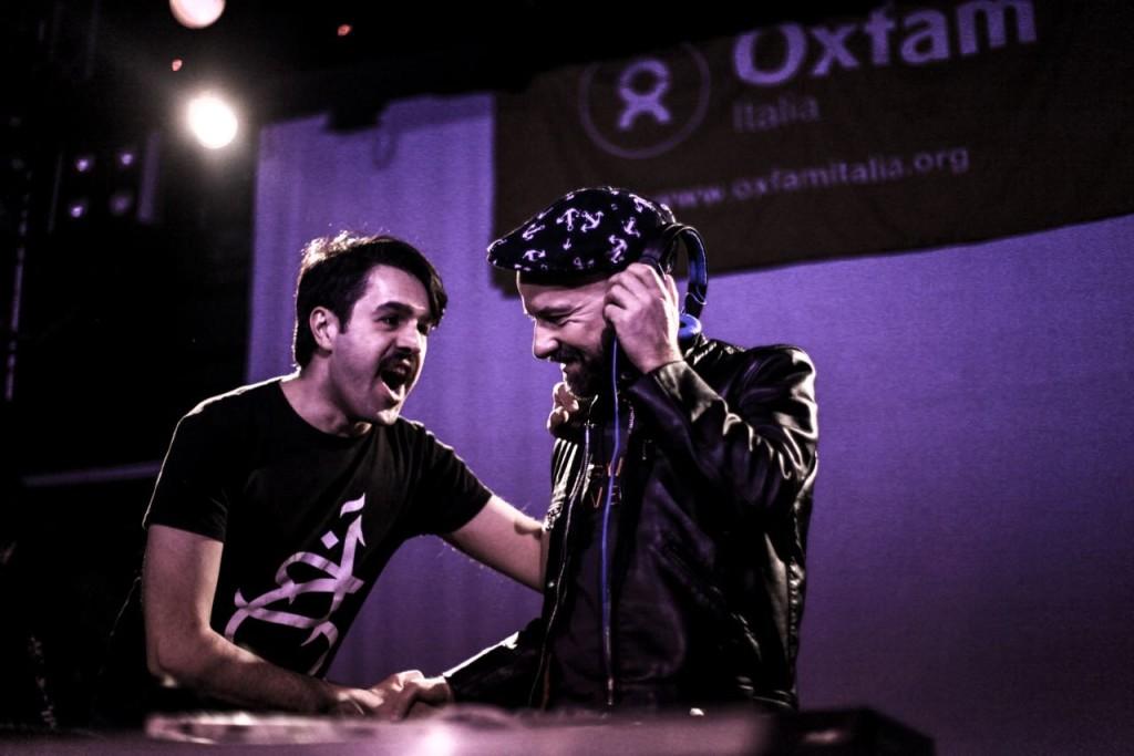 Dj Saeed Aman and Dj Shantel at Flog Ph. Luca Hosseini