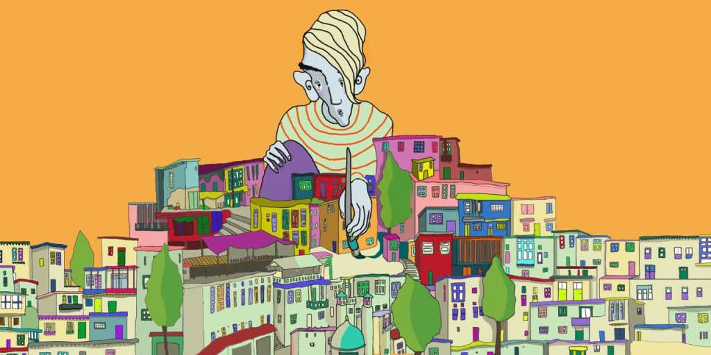Sound Middle East Now_Illustration by Leila Mostofi