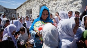 Love Marriage in Kabul_Mahboba-and-children---Panjshir-Valley
