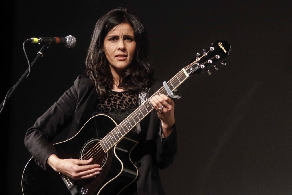 Algerian singer and actress Souad Massi