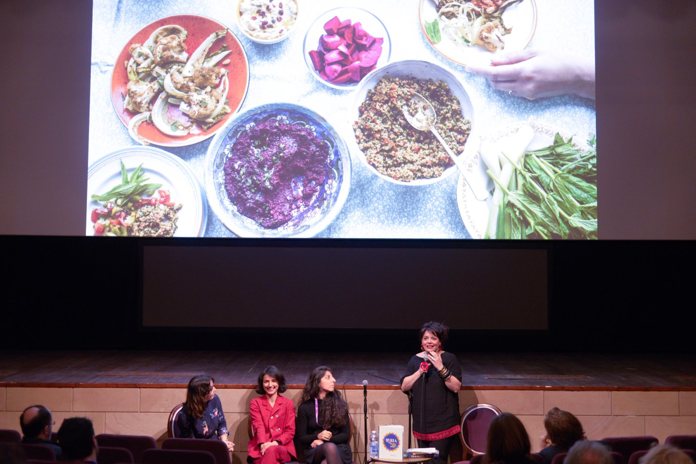 'Our Syria. Recipes from Home' authors Itab Azzam and Dina Mousawi, with Silvia Chiarantini