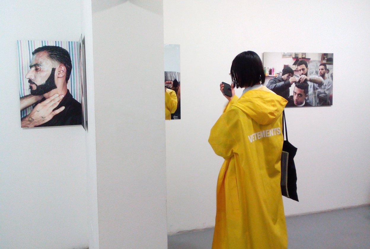 Opening The People's Salon Exhibition by Tamara Abdul Hadi