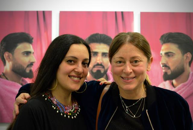 Opening The People's Salon Exhibition by Tamara Abdul Hadi