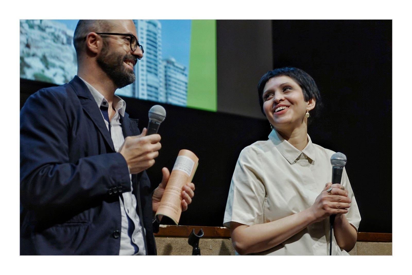 'Stronger than a bullet' director Maryam Ebrahimi