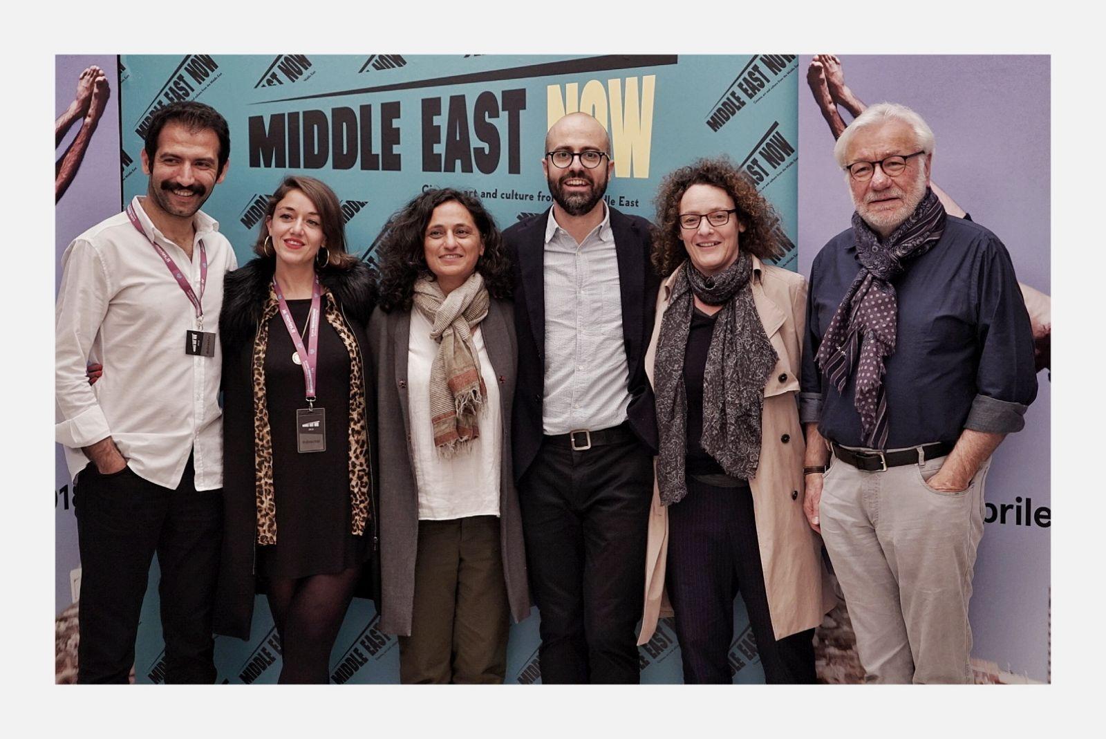 Festival Guests at Cinema La Compagnia
