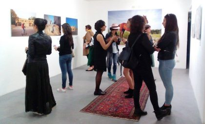 Tasneem Alultan exhibition 'Saudi Tales of Love' at FSM Gallery